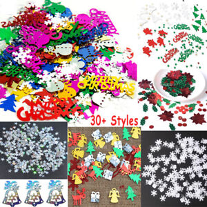 Christmas-Iridescent-Confetti-Sequins-Card-Scrapbooking-Decor-Craft-Nail-Glitter