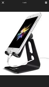 Soporte de cuna,, teléfono ajustable Dock Universal Soporte soporte de tableta Soporte de teléfono