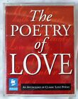 THE POETRY OF LOVE Two Cassette Audio Book Set  NEW