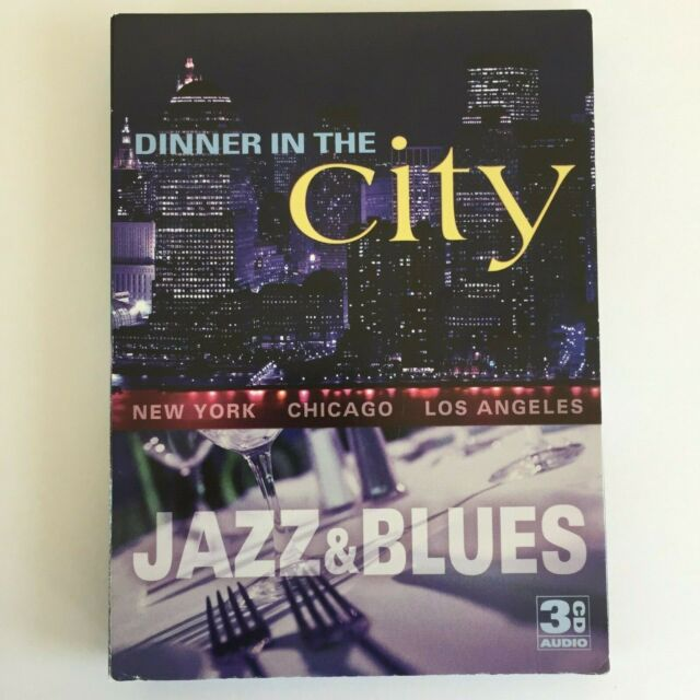 Dinner in the City: Jazz & Blues Various Artists 33 Tracks 3 CD Set