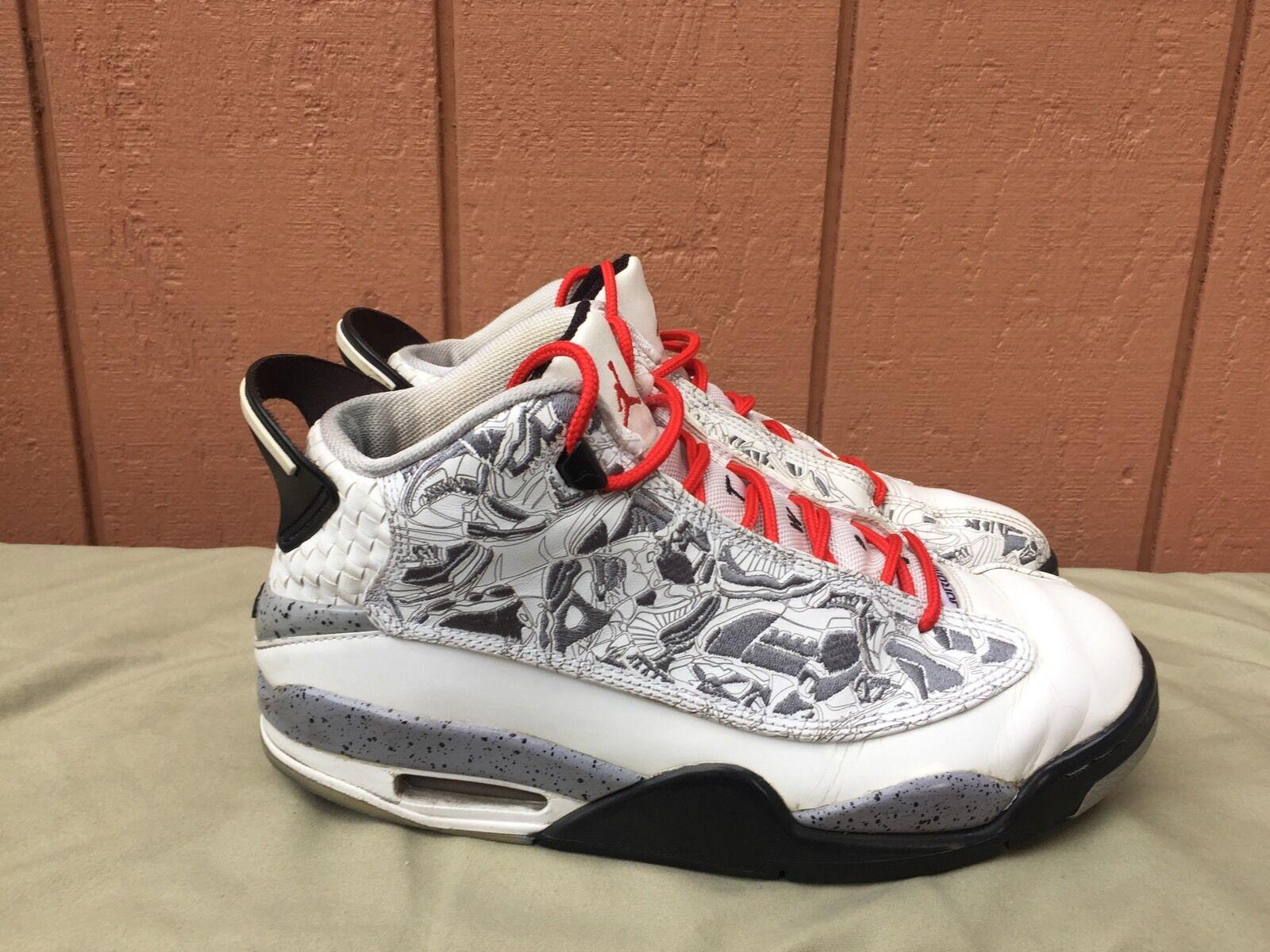 Comfortable and good-looking Nike Air Jordan Dub Zero XX 20 White/Varsity Cement Grey 311046-161 Men's US 9.5