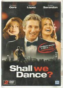 SHALL WE DANCE? DVD Film ITA PAL n. 2 DVD di cui uno in alta definizione