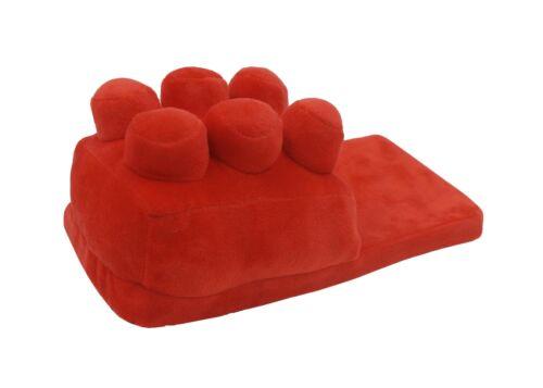 Brick Warm Winter Slippers Adults Novelty 3D Building Block