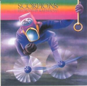 SCORPIONS - FLY TO THE RAINBOW (1974/1983) Hard Rock CD Jewel Case+FREE GIFT