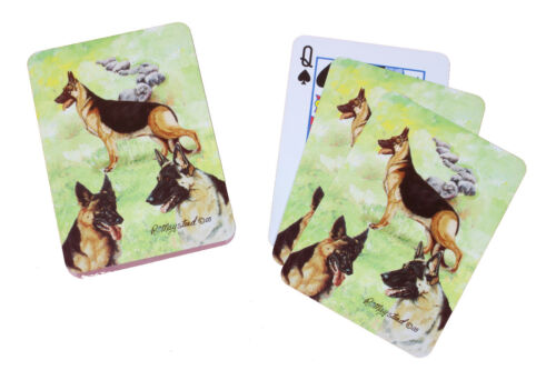 German Shepherd Alsation Dog Pack Playing Deck of Cards Game Perfect Gift