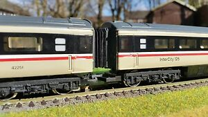 12-x-00-Gauge-Bachmann-Hornby-MK3-Mark-3-Corridor-Connector-Bellows-4mm-BR-HST
