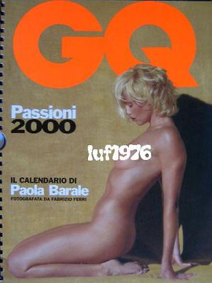 Calendario Gq.Calendar Sexy Paola Barale Nude Calendario Gq 2000 Ebay