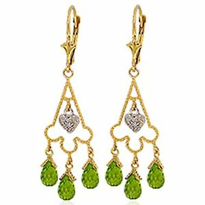 4-80-CTW-14k-Solid-Gold-Chandelier-Diamond-Earrings-with-Natural-Peridot-Stone