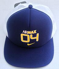 Nike AIRMAX 04 Adult Unisex Flat Brim Snapback Trucker Cap Hat 572627 100 MISC