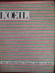 Magazine-Art-L-039-Oeil-No-85-of-1962-Special-Architecture-Shapes-Useful-in-Italy