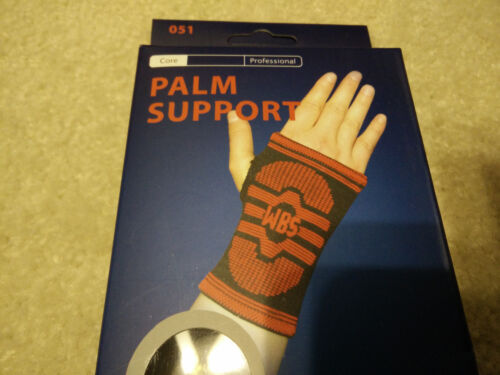 2 Palm Hand Wrist Brace Elastic Support Adjustable Pain Relief Sports