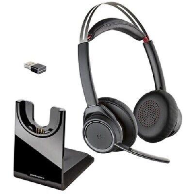Plantronics Voyager Focus Uc B825 202652 01 Headset W Base Bt600 Usb Dongle 17229147782 Ebay