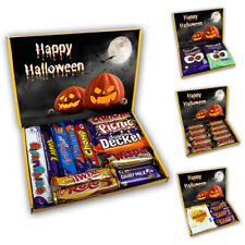 Halloween Chocolate Gift Box Treat Box Hamper for Children Twirl Buttons Kinder