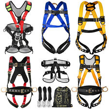 Fall Protection Construction Harness Ampamp Shock Absorbing Roofing Carpenters