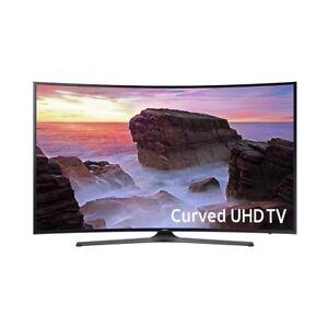"Samsung UN55MU6500 55"" Curve TV 4K UHD Smart TV"