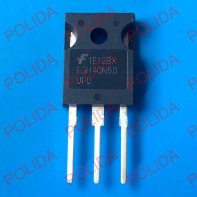 10PCS IGBT Transistor FAIRCHILD//INTERSIL//HARRIS TO-247 HGTG40N60B3 G40N60B3
