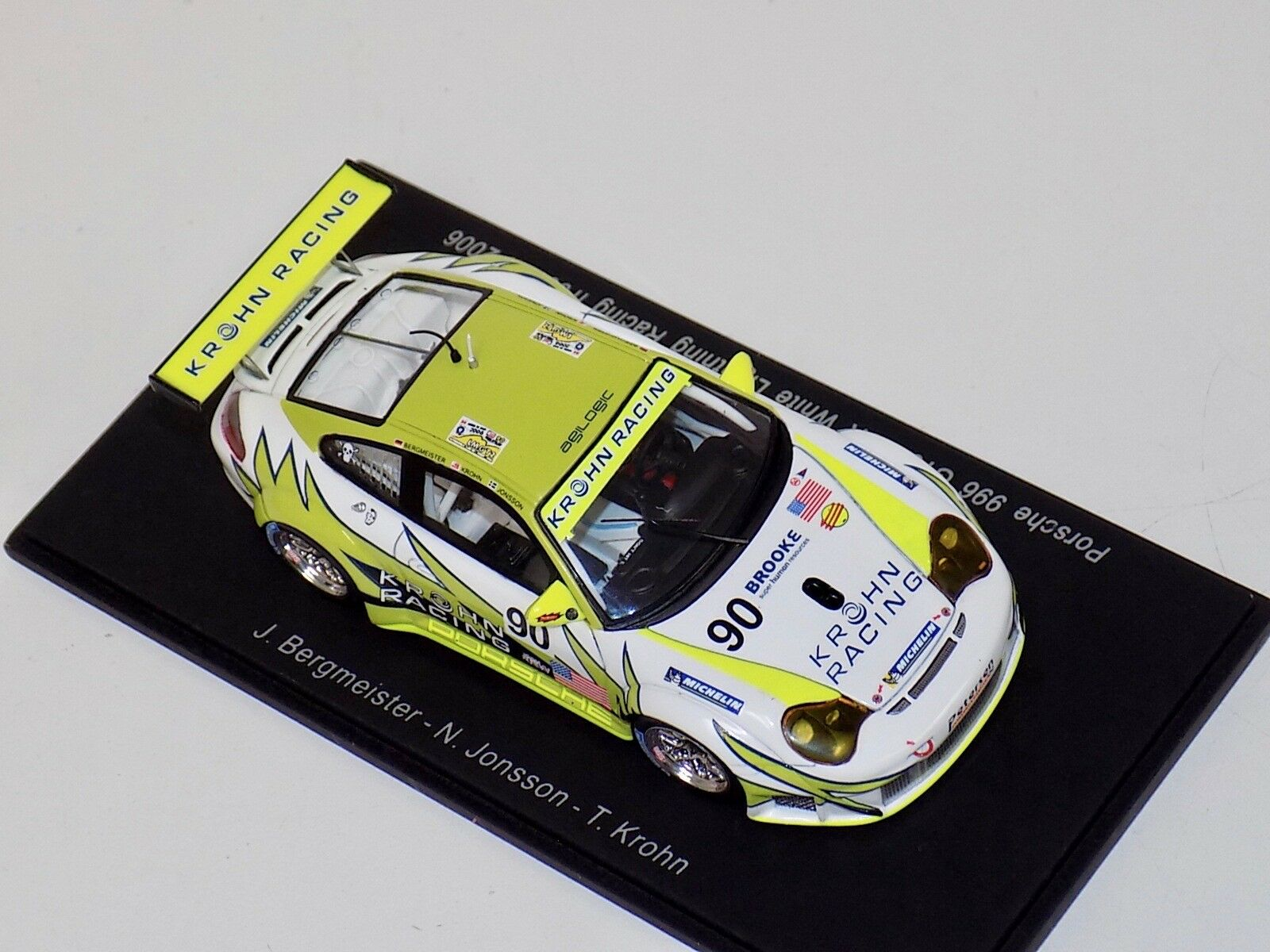 1 43 Spark Porsche 911 GT3 RSR RSR RSR Car Hours of LeMans  S0972 ff1ce6