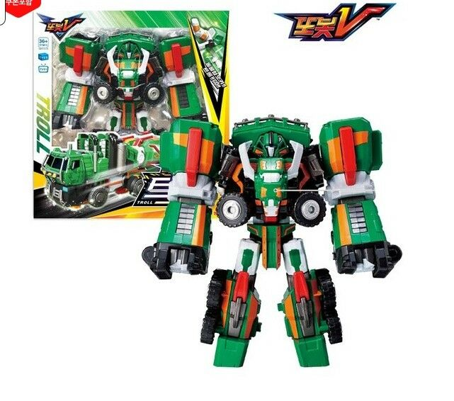 [Tobot V Troll] 2019 NEW Transformation Robot to Vehicle Toy Action Figure