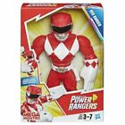 Hasbro Power Rangers Red Ranger Action Figure Mega Mighties Poseable 10 Inch