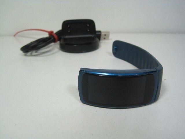 Samsung Gear Fit2 [Größe S] blau [OHNE SIMLOCK] STARK GEBRAUCHT H040JGK