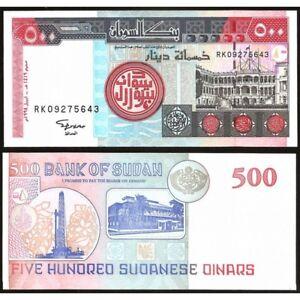 500 Dinars 1998 Unc P 58 B Hzbmxqzp-08000710-808810394