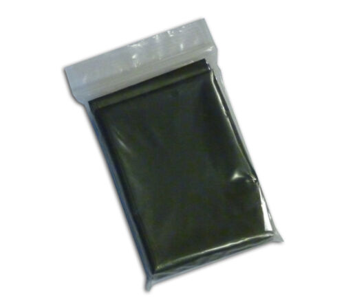 Space Blanket Olive Drab 4 pack Military Casualty Trauma Survival Blankets