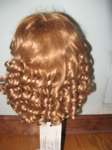 SIZE  9   NEW AUBURN SUZANNE ANTIQUE MODERN DOLL WIG SYNTHETIC MOHAIR
