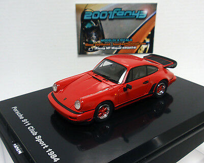 Porsche 911 Club Sport rot 1984-1:43 PROVENCE MOULAGE