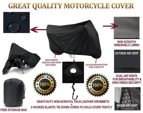 SUPER HEAVY-DUTY MOTORCYCLE COVER FOR Honda Africa Twin DCT Dakar Rally 2016-17