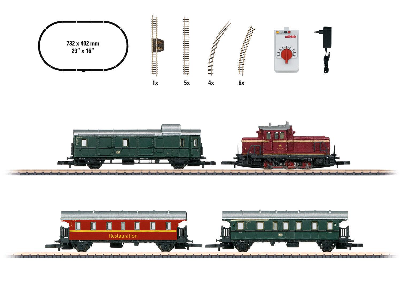 Märklin 81871 Escala Z Set de Iniciación Museums-Personenzug