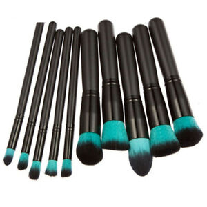 NEW-10pcs-Professional-Make-up-Brush-Set-Foundation-Blusher-Face-Powder-Brushes