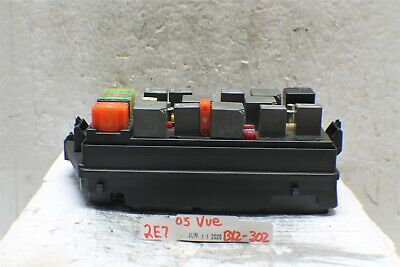 [SCHEMATICS_4US]  2004-2005 Saturn Vue Fuse Box Relay Unit PA66GF14 Module 302 2E7-B2 | eBay | Fuse Box 2005 Saturn Relay |  | eBay