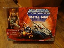 2001 MATTEL--MASTERS OF THE UNIVERSE--BATTLE TANK W/ HEMAN FIGURE (LOOK)