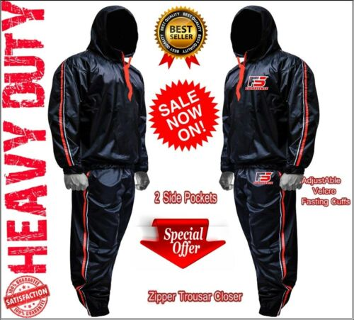 Sauna Sweat Suit for WEIGHT LOSS Men Women MMA BOXING Body SHAPER Workout FITNES