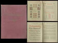 CATALOGUE CHELTENHAM - FONDERIE CASLON - vers 1905 - TYPOGRAPHIE