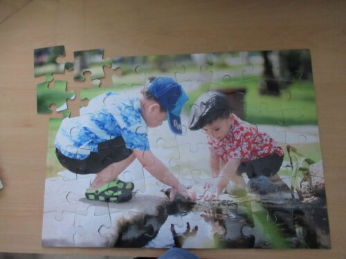NEW Personalised Jigsaw Puzzle,Large 48