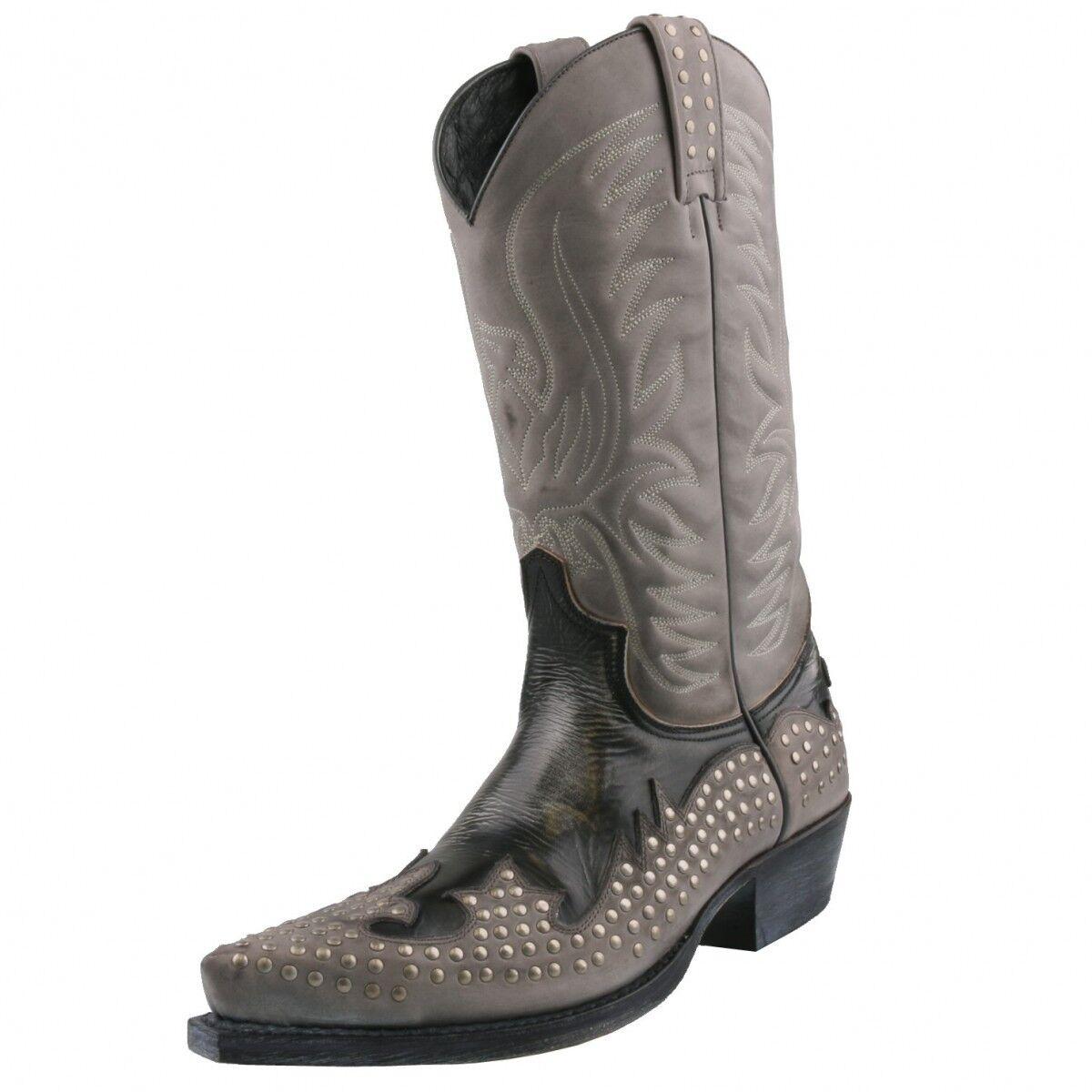 Neu Herrenstiefel SENDRA BOOTS Cowboystiefel Stiefelette Herrenstiefel Neu Stiefel Leder Schuhe 580855