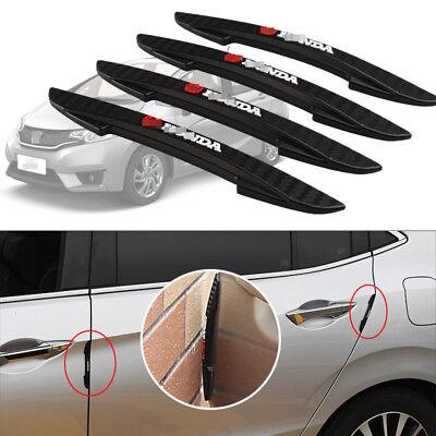 4Pcs Door Protector Door Side Edge Protection Guards Stickers For Honda FIT