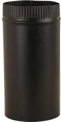 """10 Pk Black 7/"""" X 12/"""" 24 Ga Furnace Heat Stove Pipe Imperial Mfg BM0103"""