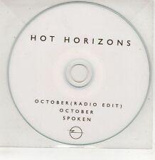 (GU50) Hot Horizons, October / Spoken - DJ CD