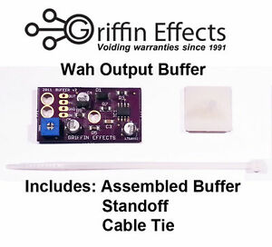 Details about Griffin Effects Wah Output Buffer Kit - Crybaby GCB-95, Vox  V847, V847A, Others