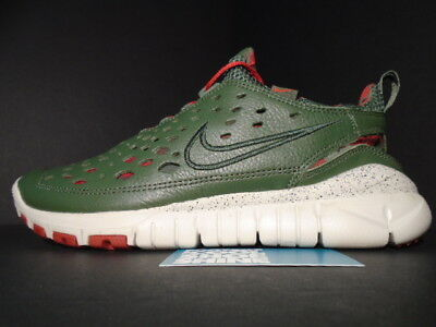 41ca772a969c ... clearance 06 nike free trail 5.0 stussy world tour new york olive green  red 315594 331