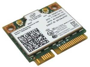 HP 717382-001 Intel Dual Band Wireless-N 7260HMWNB WiFi Card