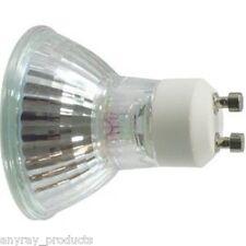 Anyray A1822Y 2-Pack 50W GU10 +C 50 Watt Back Light Bulb Halogen MR16 120Volt