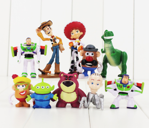 Toy Story Model 10pcs Display Display 10pcs Set Mini Action Figures