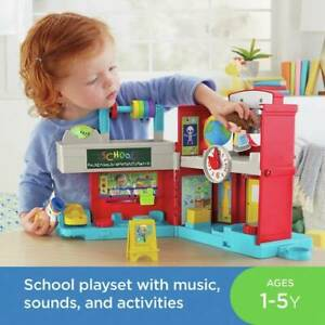 Fisher-Price Friendly Schoolhouse Brand in box 702 9