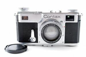 EXCELLENT-Zeiss-Ikon-Contax-II-35mm-Entfernungsmesser-Kamera-mit-Sonnar-5cm-f-2-Objektiv