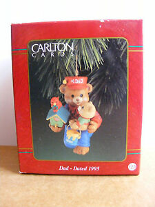 image is loading carlton cards number one dad christmas ornament dated - Dad Christmas Ornament