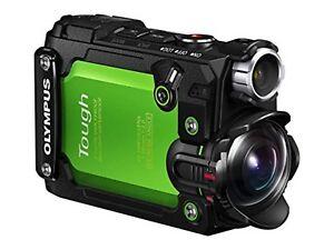 Actif Olympus Caméra Action Stylet Tg-tracker Vert Japon Nouveau Performance Fiable