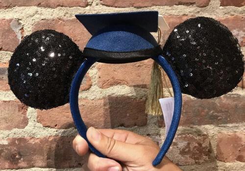 Disney Parks Class Of 2021 Graduation Mickey Minnie Mouse Ears Headband NWT!